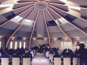 El auditorio de Amalurra
