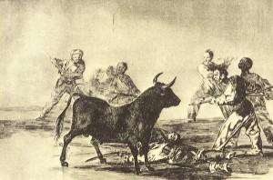 Tauromaquia de Goya