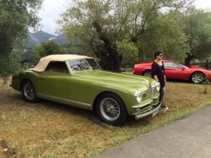 Alfa Romeo 6C 2500 SS Pininfarina. Pueche