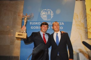 Patricio G.Careaga con Guillermo Gruber