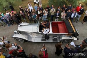 Rolls-Royce Phantom II aluminio pulido