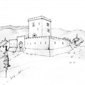 Dibujo de Ana  Gil-Pérez, hija de Pablo Gil-Loyzaga.