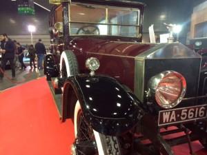 Rolls-Royce Silver Ghost Limousine Barker 1921