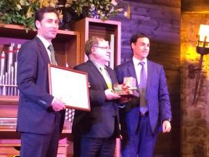 Entrega del premio a D. Enrique Gil Arranz