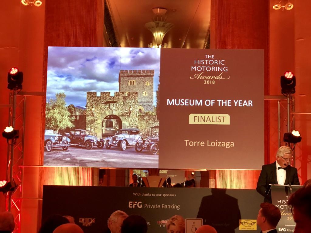 Presentación de la nominada Torre Loizaga en Londres