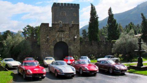 """Visite """"Ferrari 275 GT"""" de Biarritz"""