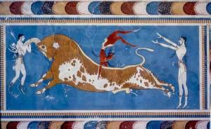 Pinturas palacio Knossos