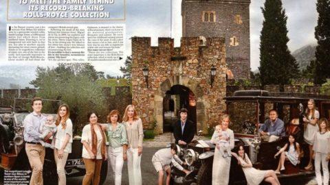 Hello! Magazine presenta Torre Loizaga en el Reino Unido