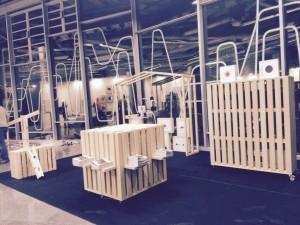 Stand diseñado por Estudio Gonzalo Santamaría. FIG Bilbao
