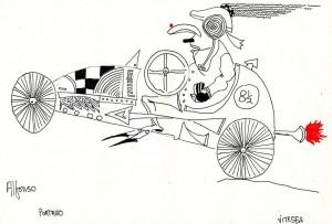 Dibujo de Pedro de la Sota