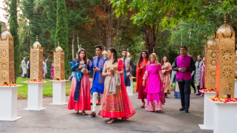A 3-Day Indian Wedding in Torre Loizaga
