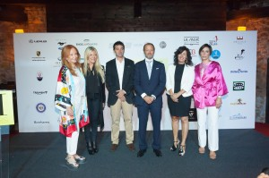 Mercedes Lasarte, Mercedes Duerincks, , Alcalde Galdames, Koldo Marcilla, Itziar Epalza, María López Tapia