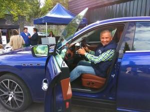 Pruebas de conducción. Maserati
