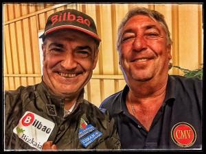 """Ignacio Corcuera """"Livingstone"""" y Jose Ángel Durán"""