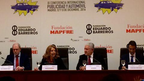 IX Conferencia Internacional Publicidad y Automóvil 2016. #FundaciónBarreiros