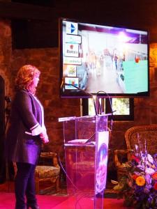 Nagore Orella, habitual presentadora en Torre Loizaga