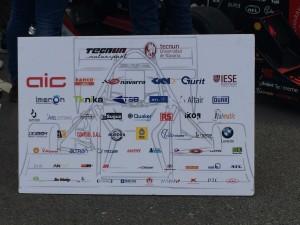 Una actividad que cuenta con muchos patrocinadores