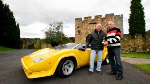 Los hermanos Cacho y Rubén Fangio visitan Torre Loizaga