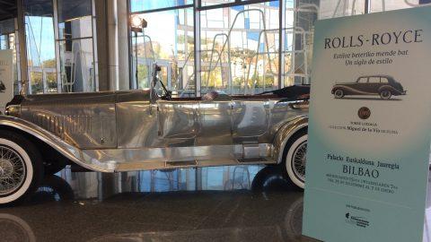 Presentación de la exposición «Rolls-Royce: un siglo de estilo» en el Palacio Euskalduna