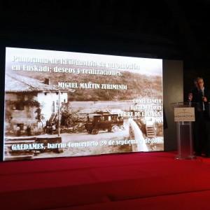 Miguel Martín abre su conferencia