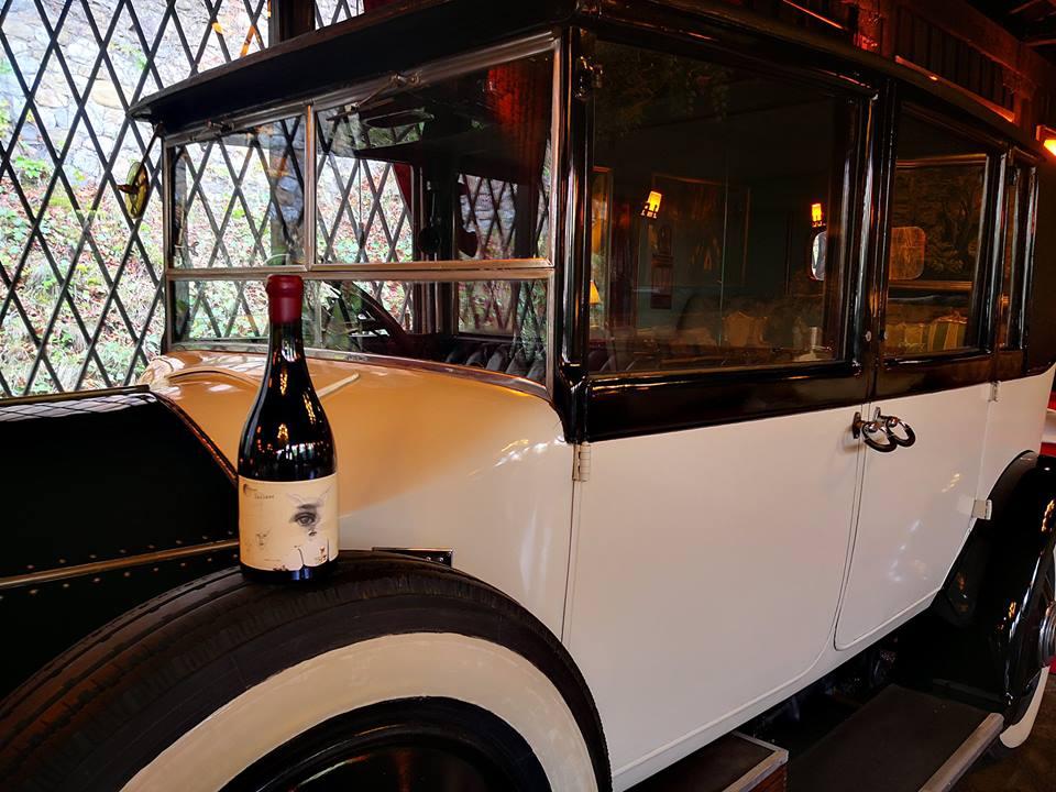 coche botella