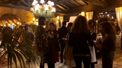 Cata de vino con Bodegas Crusoe Treasure y Basquetour #GreenSpain