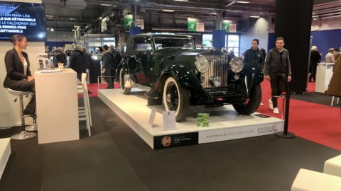Torre Loizaga in Salon Rétromobile Paris 2020