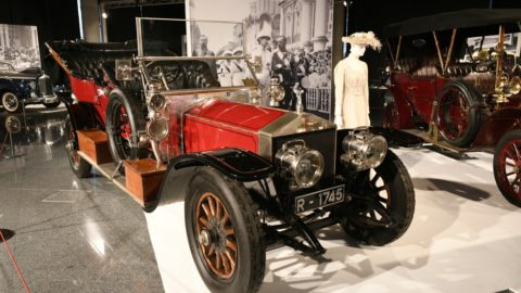 "Exhibition ""Rolls-Royce: a century of style"" in the Euskalduna Conference Centre of Bilbao"