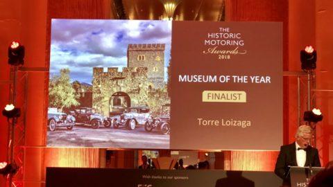 Torre Loizaga en los Historic Motoring Awards nominada como Mejor Museo de Coches #OctaneMagazine