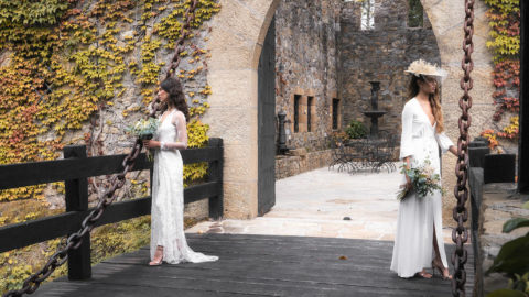 A different kind of wedding in Torre Loizaga